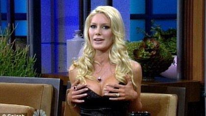 Heidi sucumbió a las presiones por verse bien