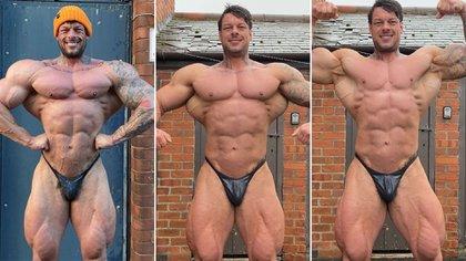 Jamie Johal's impressive physique