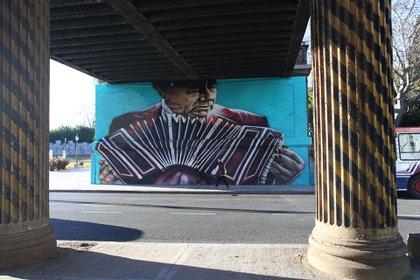 Bajo puente – Av. Del Libertador y Av. Bullrich – Artista: Segatori