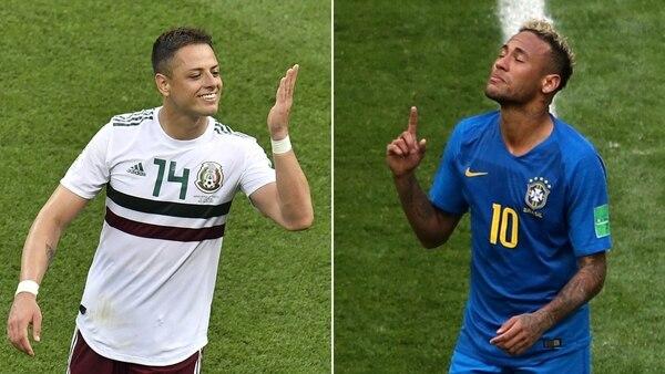 México y Brasil se enfrentarán este lunes