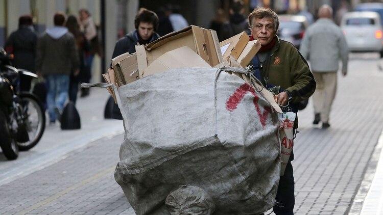 El INDEC registró un aumento de la pobreza en su última medición que llegó al 32% (Foto NA/Juan Vargas)