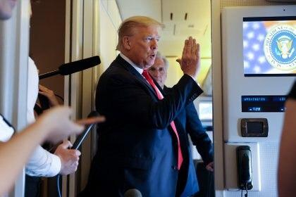 El presiente de EEUU, Donald Trump