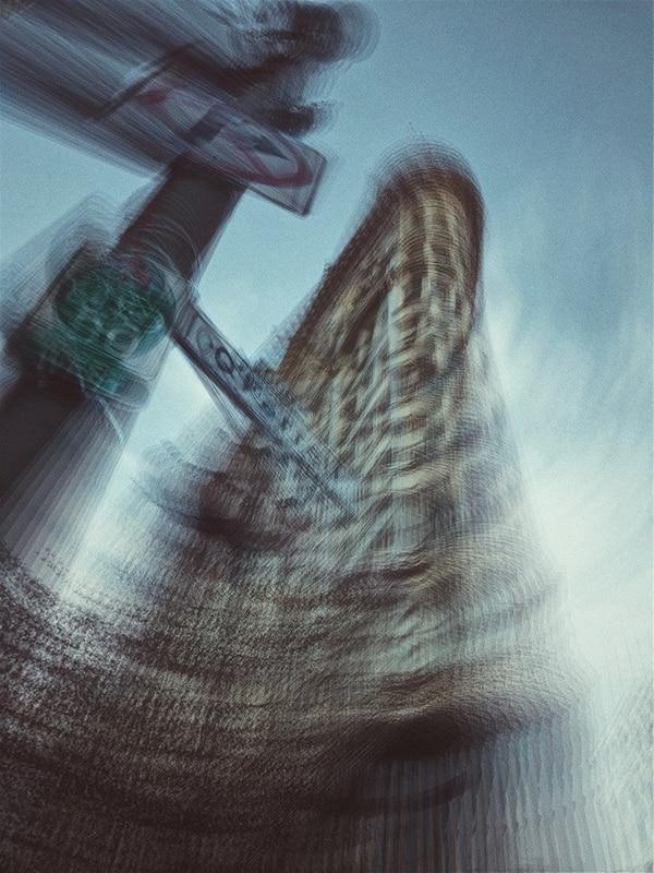 Tercera foto del premiado Cocu Liu por la serie Impresionismo urbano que fotografió con un iPhone X.