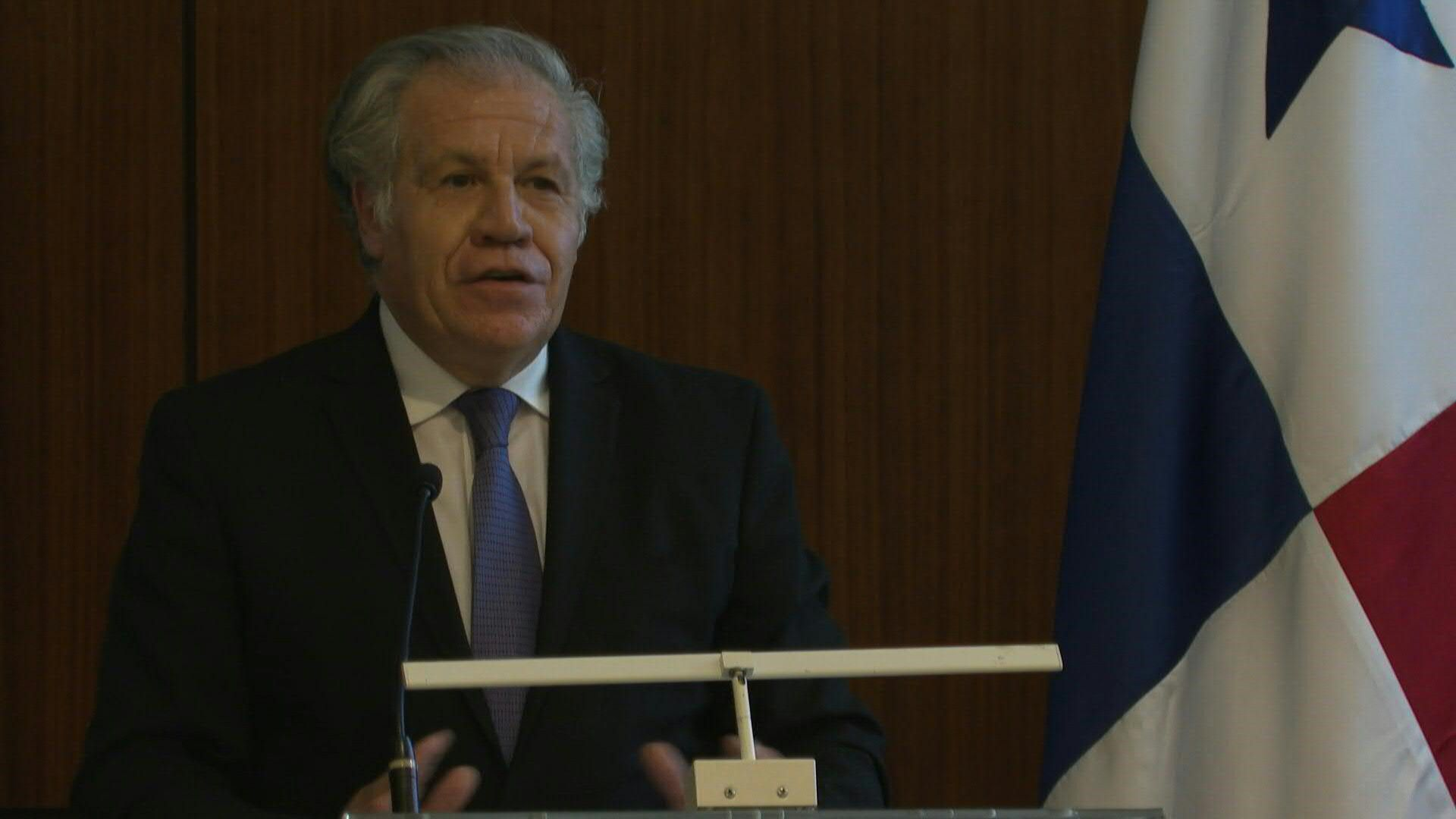 Secretario general de la Organización de Estados Americanos (OEA), Luis Almagro