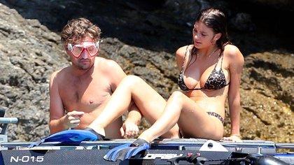 Leonardo DiCaprio y Camila Morrone iniciaron su relación a finales del 2017 (Grosby Group)