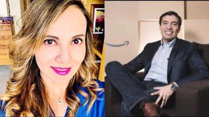 Abril Pérez Sagaón estaba casada con un alto ejectuvo de la empresa de electrodomésticos Elektra y ex director de Amazon México (Foto: Especial)
