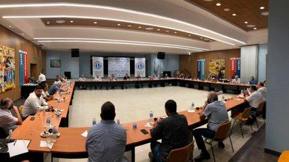 En la reunión de la CGT se habló sobre la necesidad de acelerar la unidad sindical