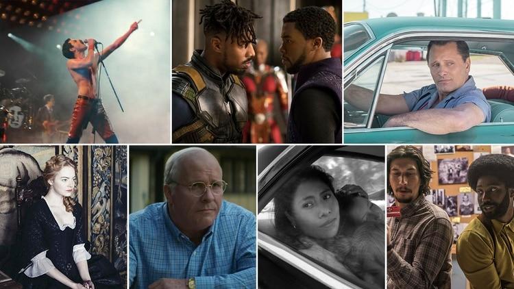 Las candidatas para la categoría Mejor película