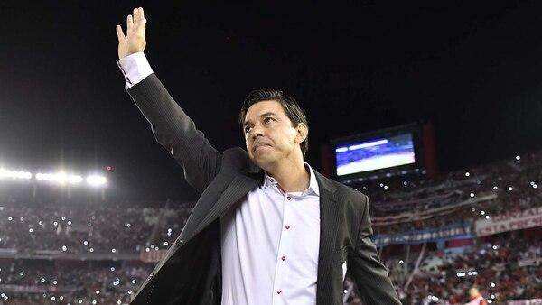 El director técnico de River, Marcelo Gallardo (Télam)