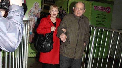 Chiche Gelblung y su esposa CristinaSeoane (Foto: Teleshow / Verónica Guerman)