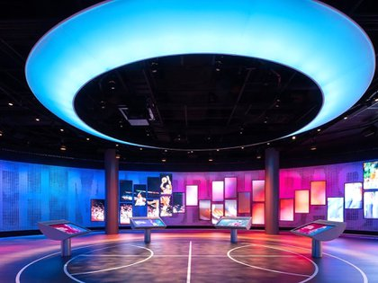 el Saló de la Fama és el lloc on descansen els noms de les grans personalitats de l'bàsquet nord-americà (@hoophall)