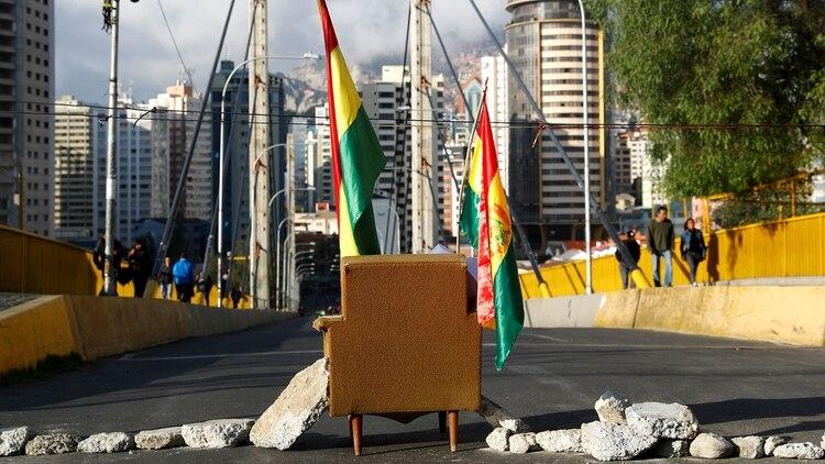 Bloqueos en La Paz (Reuters)