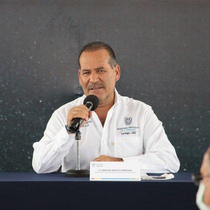 Martín Orozco, gobernador de Aguascalientes Foto: Gobierno de Aguascalientes
