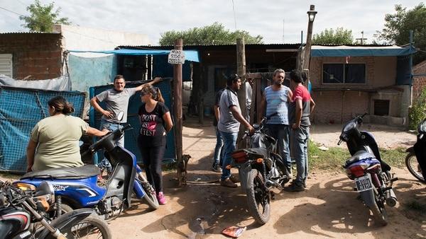Vivienda donde vivía Camila Borda. (Adrián Escandar)