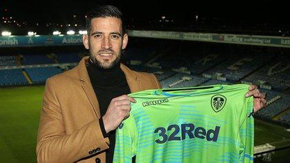 Kiko Casilla fue duramente sancionado por la FA y se perderá buena parte del campeonto The Championschip (Crédito: Web Leeds United)