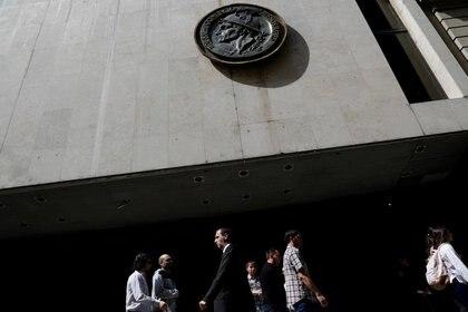 La sede de la Bolsa de Comercio de Buenos Aires. (Reuters)