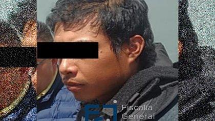 """Mario Alberto """"N"""", presunto feminicida de Fatima (Foto: Twitter/ FGJCDMX)"""