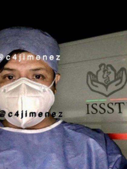 """El agresor fue identificado como Mario Alberto """"N"""" (Foto: C4Jimenez)"""