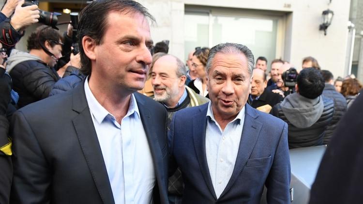 Los intendentes Ariel Sujarchuk (Escobar) y Alberto Descalzo (Ituzaingó)