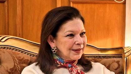 María Teresa Mercado, ex embajadora de México en Bolivia (Foto: Internet)