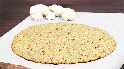 Con la coliflor se pueden hacer costras o masas para pizzas (iStock)