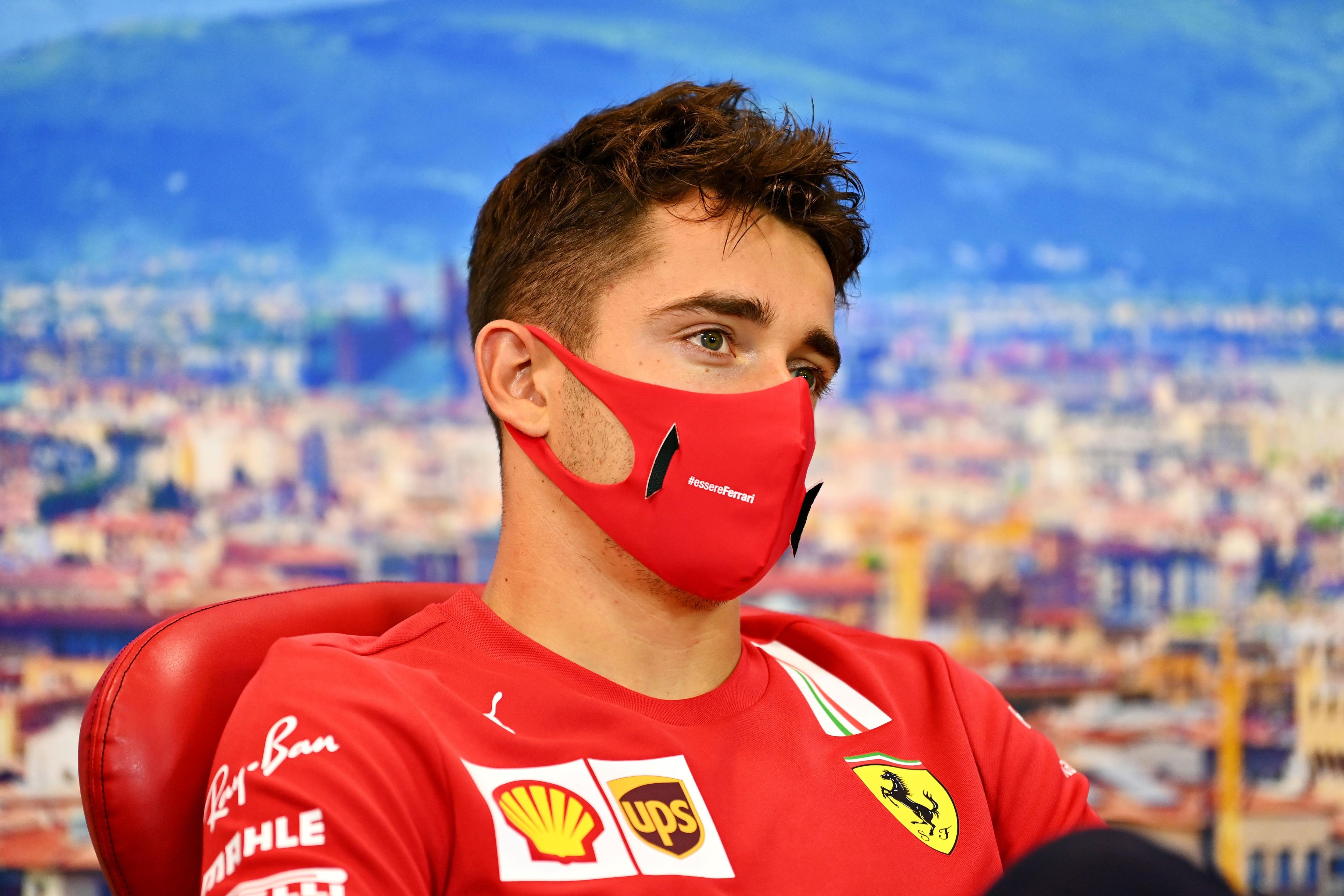Leclerc acabó octavo en el último GP y Vettel décimo