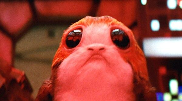 """Fotograma de la película """"Latest Jedi"""" (Cortesía de Disney)"""