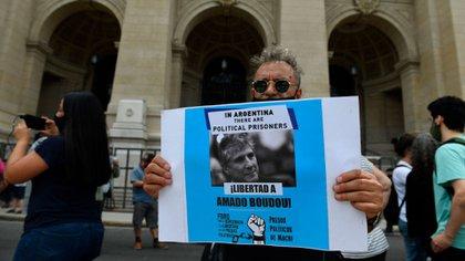 Marcha al Palacio de Justicia tras la confirmación de la condena de Boudou (Maximiliano Luna)