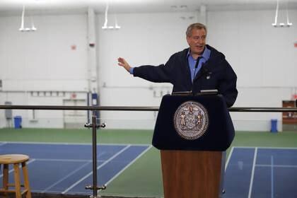 El alcalde de la ciudad de Nueva York, Bill De Blasio. Foto: REUTERS/Stefan Jeremiah