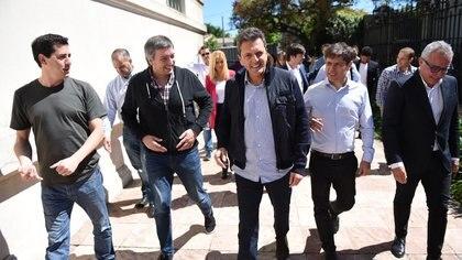 De Pedro, Kirchner, Massa, Kicillof y Zamora