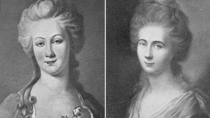 Lotte Buff y Lili Schönemann