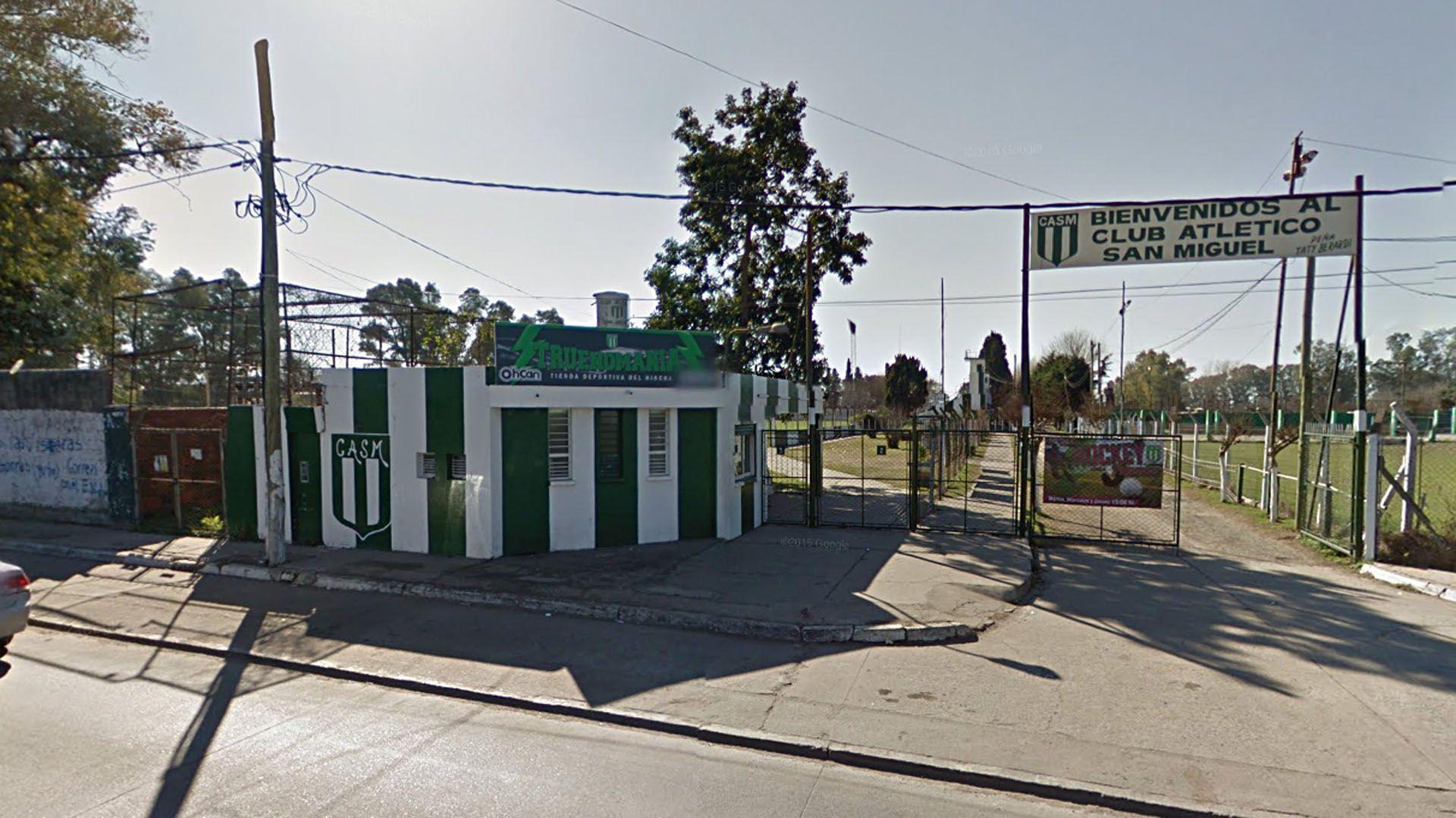 Entrada Club Atlético San Miguel
