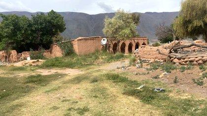 (El rancho de Eulogia Tapia en el pueblo de la Poma, a más de 3000 metros de altura)