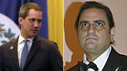 Juan Guiadó y Alex Saab