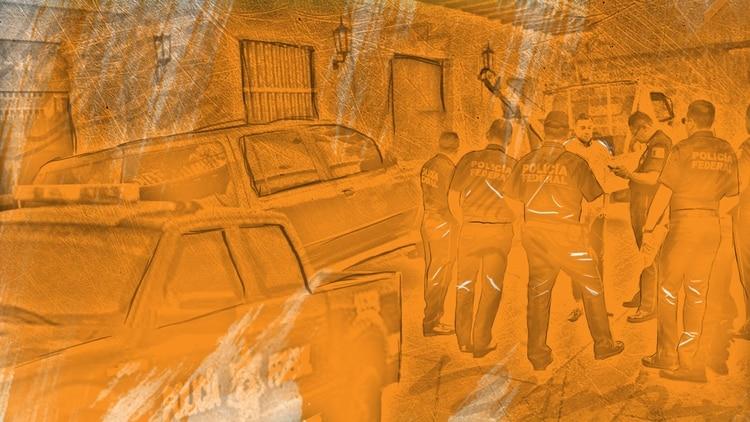 A las 07:43 horas, Policías Estatales pidieron una grúa para trasladar una camioneta pick up a la avenida 7, en la clonia Valles de Anáhuac, donde minutos después se llevaría a cabo la supuesta ejecución extrajudicial (Infocomic: Infobae, Jovani Silva)