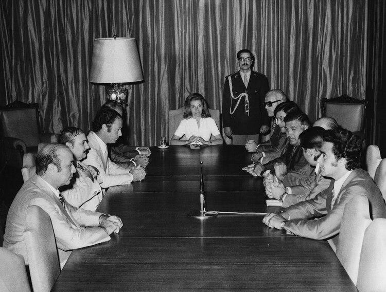 """Isabel firmó dos decretos secretos en 1975 para la lucha contra la """"subversión""""(Getty Images)"""