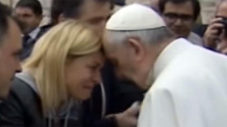 La actriz y conductora llevó su deseo de ser mamá ante el Papa Francisco, con quien mantuvo un diálogo íntimo y conmovedor