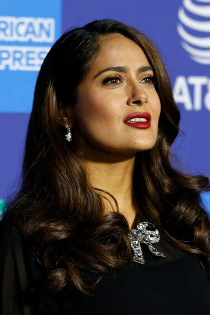 Actor Salma Hayek attends the 2020 Palm Springs International Film Festival Awards Gala in Palm Springs, California, U.S., January 2, 2020. REUTERS/Mario Anzuoni