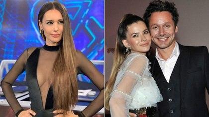 """Carolina Pampita Ardohain, Eugenia """"la China"""" Suárez y Benjamín Vicuña"""