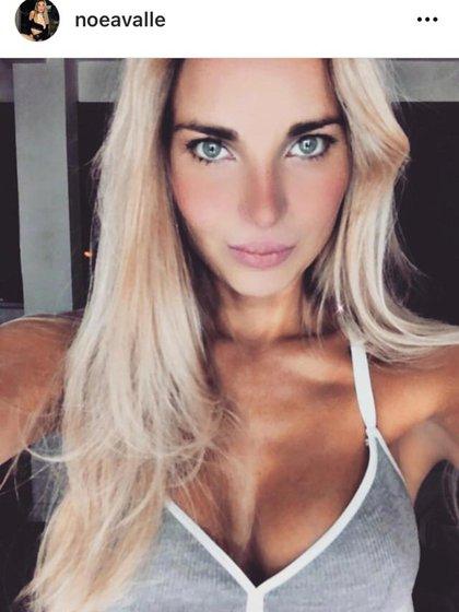 Noelia, la víctima. (Instagram)