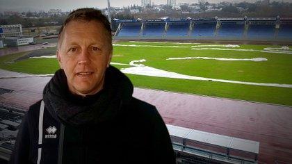 Heimir Hallgrimson recibió a Infobae en el estadio nacional Laugardalsvollur de Reikiavik