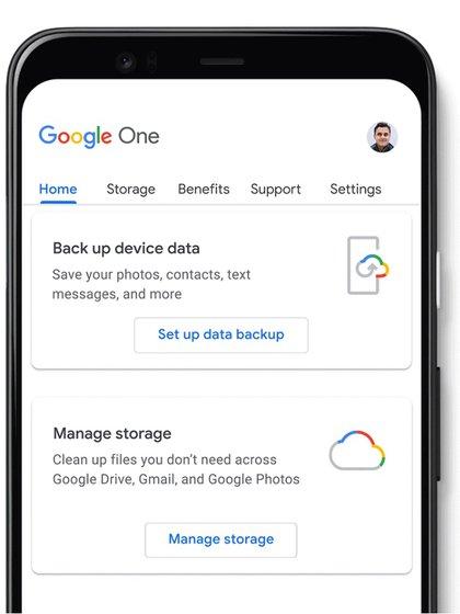 Google One sumó nuevas funciones.
