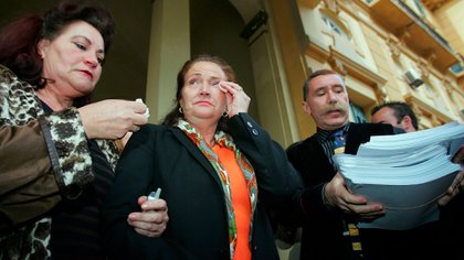 Alicia Hornos, madre de Rocío Wanninkhof, sigue creyendo que la asesina es su antigua pareja (Reuters/ Jon Nazca)