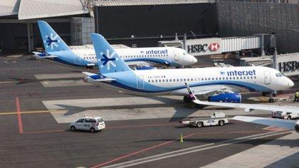 El 25 de marzo de 2020, diversas arrendadoras decomisaron 27 aviones que usaba la compañía debido a la falta de solvencia para pagar la renta de las aeronaves (Foto: Bloomberg)