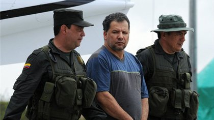 El paramilitar y narcotraficante Daniel Rendón Herrera, alias 'Don Mario'.