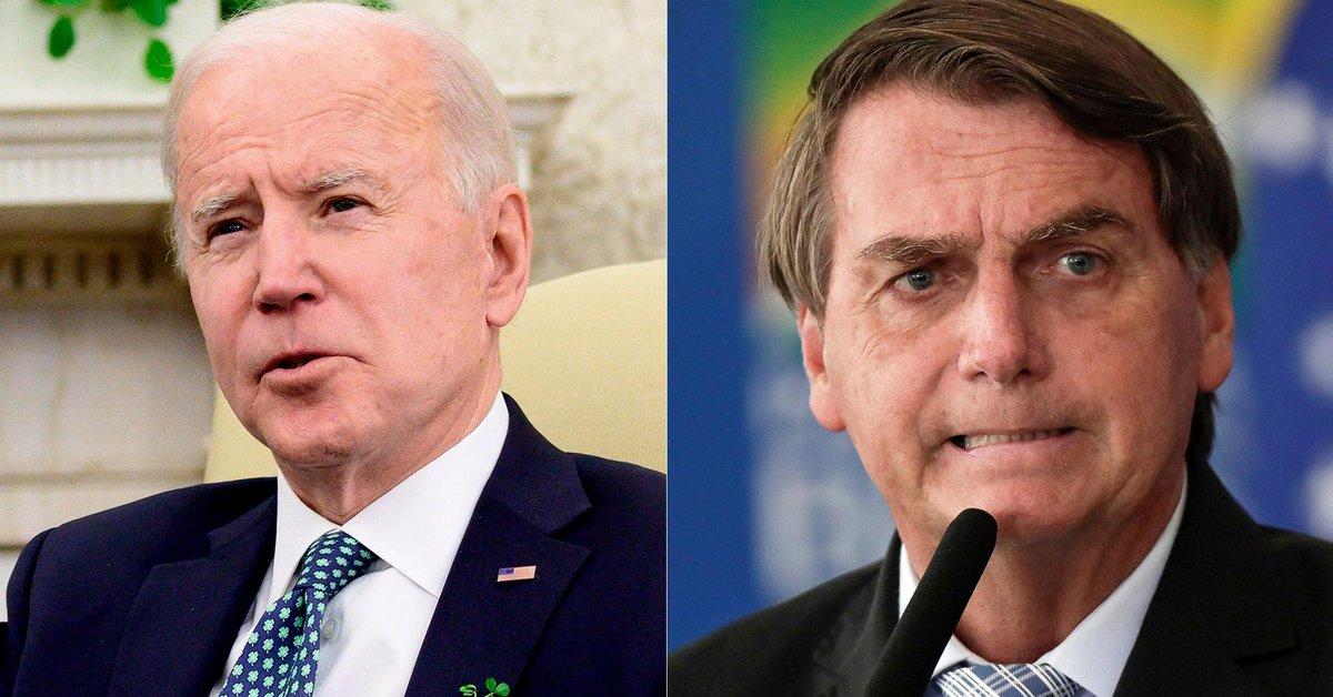 """Jair Bolsonaro dijo que """"la obsesión"""" de Joe Biden por el medioambiente  afecta a su relación - Infobae"""