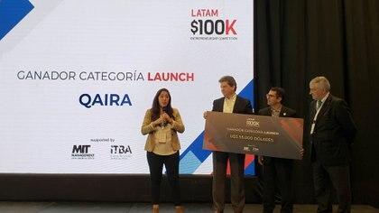 qAIRa, la startup peruana dedicada a ofrecer soluciones de monitoreo ambiental con drones se llevó el premio mayor en 2018