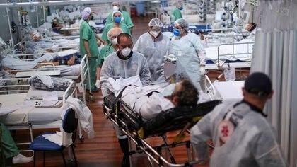 Brasil superó los 15 millones de casos confirmados de COVID-19