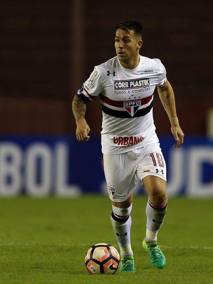 En las próximas horas Boca podría acordar con el futbolista y San Pablo la transferencia (Getty Images)