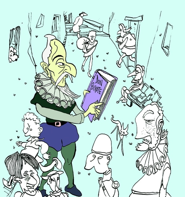 Don Quijote de la Mancha de Miguel Rep